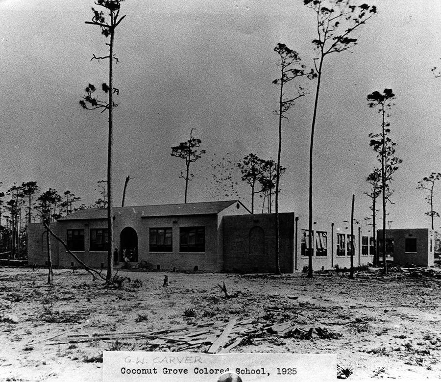 Coconut Grove Colored School, ca. 1925.